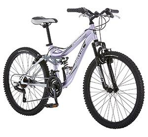 Mongoose R3577 Girls Maxim Full Suspension Bicycle