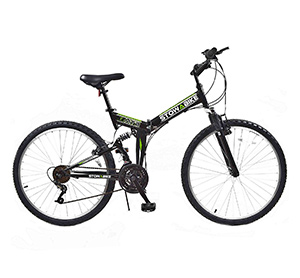 Stowabike 26 MTB v2 Folding Dual Suspension 18 Speed Shimano