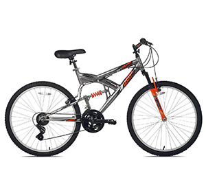 best entry level mountain bike Northwoods Aluminium Full Suspension
