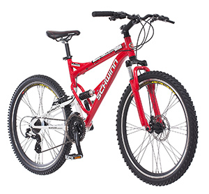 best entry level mountain bike Schwinn protocol 1.0 Dual Suspension
