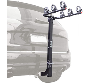 bike racks for hatchback cars with spoilers Critical Cycles Lenox Hitch Mount