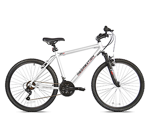 reaction silver ridge mountain bike