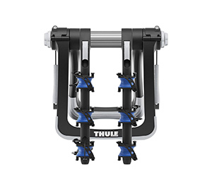 bike racks for hatchback cars with spoilers thule raceway pro