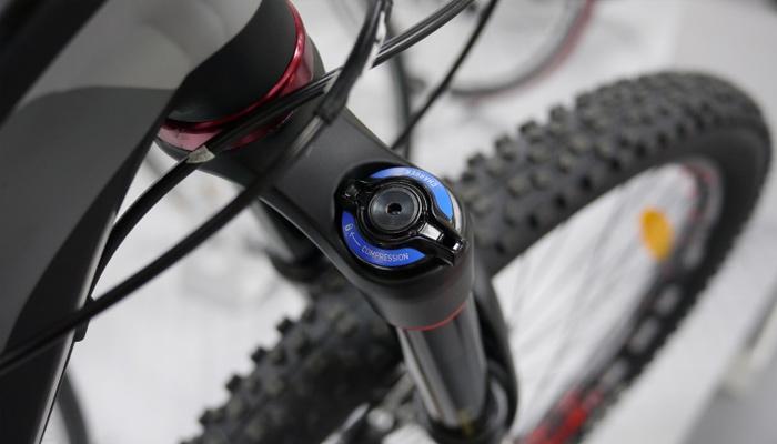 how to adjust bike suspension