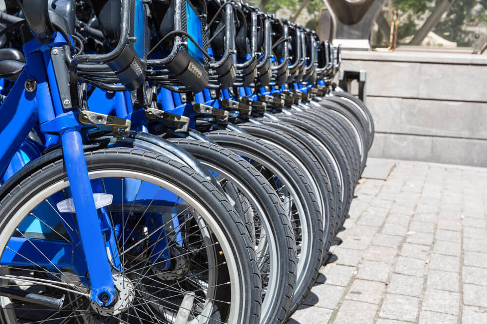 bike sharing programs - a new form of transportation