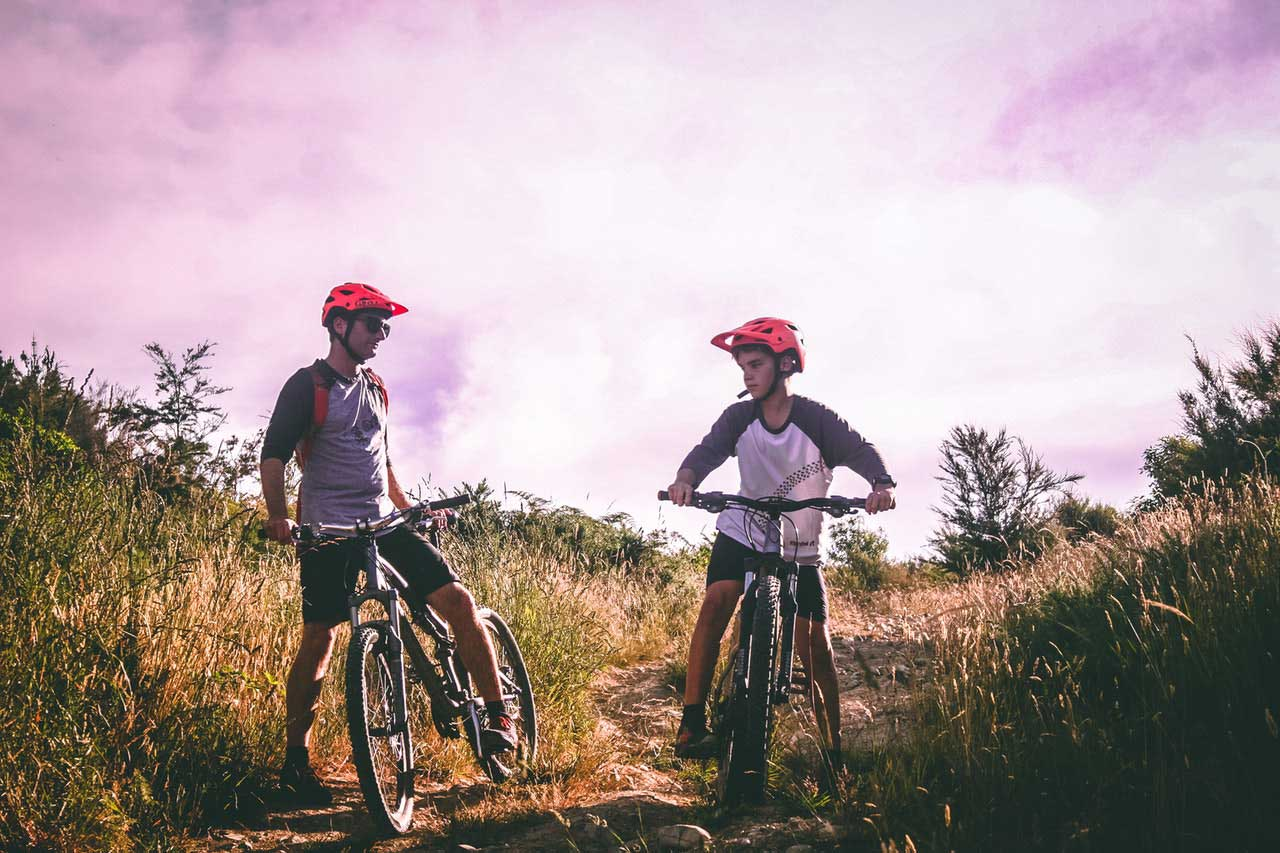 shift gear on mountain bike