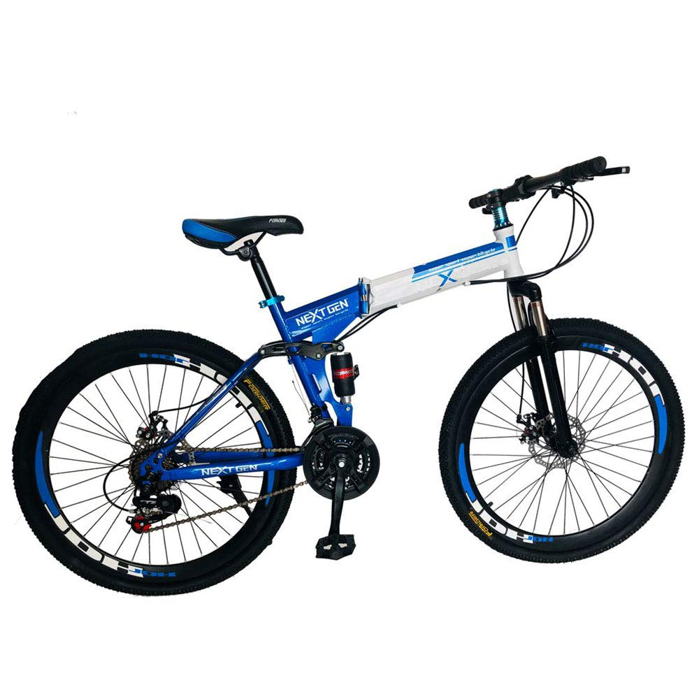 Foldable Full Suspension Downhill Mountain Bike