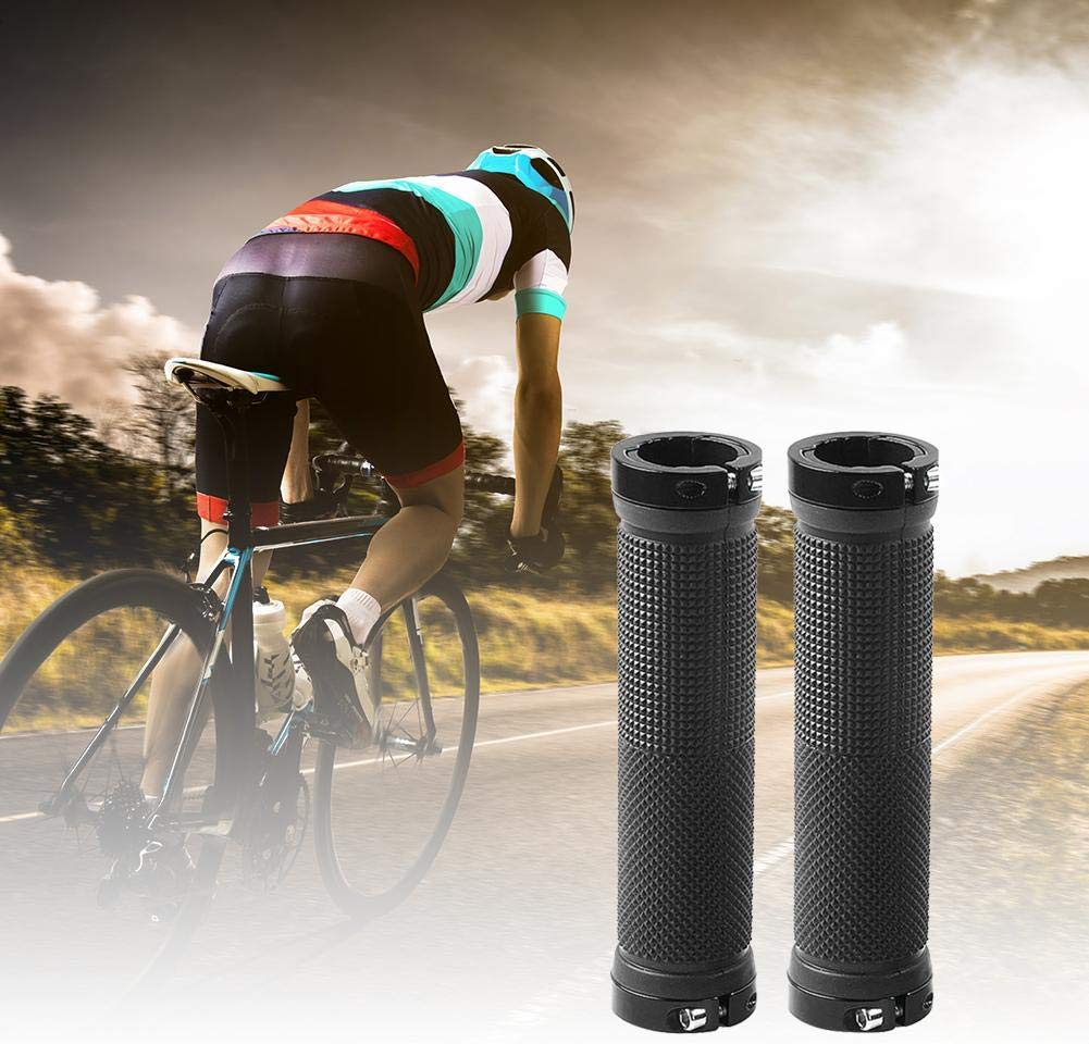 Bicycle TPR Grips Anti-skid Comfy Hand Rest Handlebar Grip Eco MTB Bike Cycling